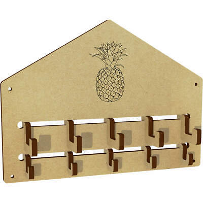 'Pineapple' Wall Mounted Coat Hooks / Rack (WH00036198)
