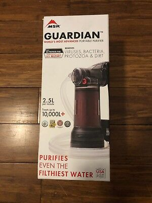 MSR Guardian Worlds Most Advanced Portable Purifier System