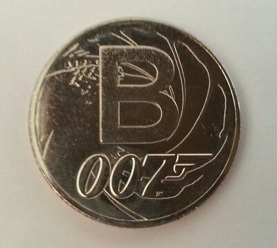 NEW A-Z 2018 ALPHABET 10p COIN HUNT- LETTER B - JAMES BOND UNCIRCULATED