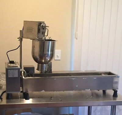 Commercial Automatic Donut Fryer Maker Making Machine