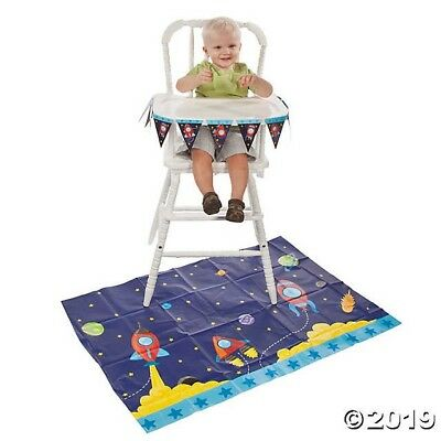 1st Birthday Rocket High Chair Set DISCONTINUED ITEM. HARD TO FIND!