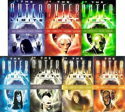 The Outer Limits Complete Seasons 1-7 series DVD Set 60 Day Warranty