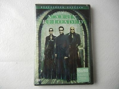 The Matrix Reloaded Widescreen DVD NEW!!