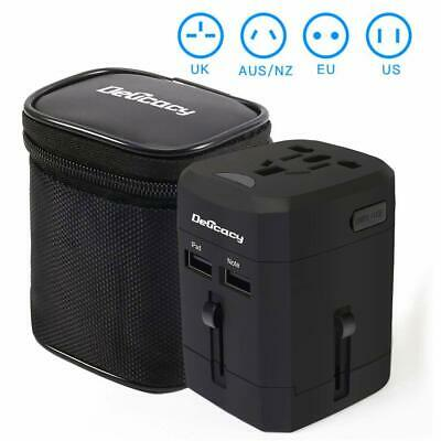 Universal Travel Power Adapter Worldwide All in One Adapter with Fast Charging