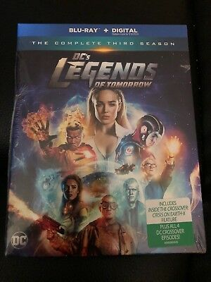 Dc's Legends Of Tomorrow: The Complete 3Rd Season (Blu-Ray- No Digital Copies)