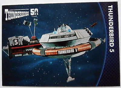 THUNDERBIRDS 50 YEARS - Card #43 - Gerry Anderson - Unstoppable Cards Ltd 2015