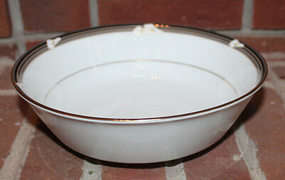 Noritake Fine China Legendary ELLINGTON 3691 Round Serving Vegetable Bowl 8 3/4