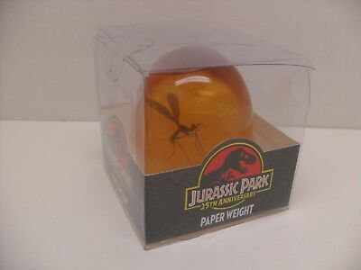 2018 Jurassic Park 25th Ann. Mosquito in Amber Replica Paper Weight Prop