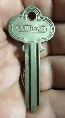 Vintage Early Barrows Brand Key Blanks, locksmith