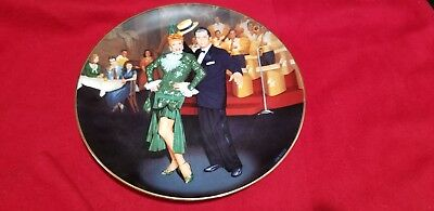 Hamilton Collection- I Love Lucy - Night At The Copa Plate 1991 # 2120D