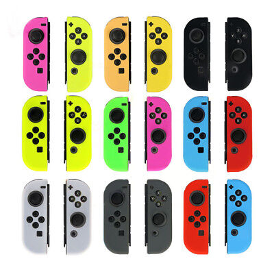 Silicone Case Cover Skin Protector Accessories For Nintendo Switch Controller