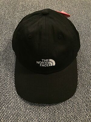 THE NORTH FACE Black White Dad Cap 6 Panel Hat 1966 Baseball Unisex ... b099e978563