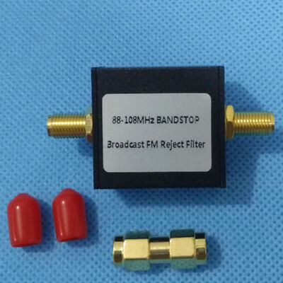Broadcast FM Band Stop Filter (88 - 108 MHz FM Trap) EO