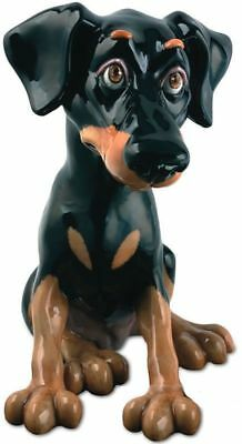 Pets with Personality Nelson the Doberman  Dog figurine PP542  NEW