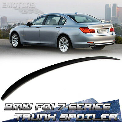Painted For BMW 7-Series F01 F02 Saloon M3-Look Trunk Boot Lip Spoiler 09-15