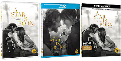(Presale) A Star Is Born (2019, DVD, Blu-ray, 4K UHD) Pick One!