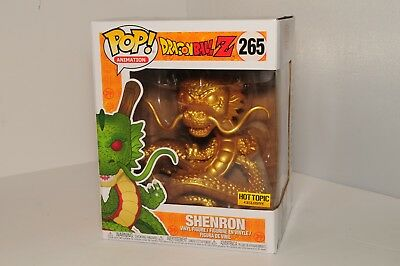 Funko POP! Animation Dragonball Z #265 Golden Shenron Hot Topic Exclusive! *New*