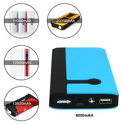 Car Jump Start Battery Charger Emergency Power Bank 14800mAh Booster 1000A BT
