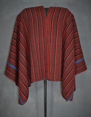 Really Folks ?? ANTIQUE LEADER´S PONCHO Aymara Andes Indian Bolivia TM7236