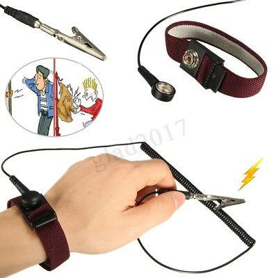 New Anti-static ESD Adjustable Strap Antistatic Grounding Bracelet Wrist  HOT