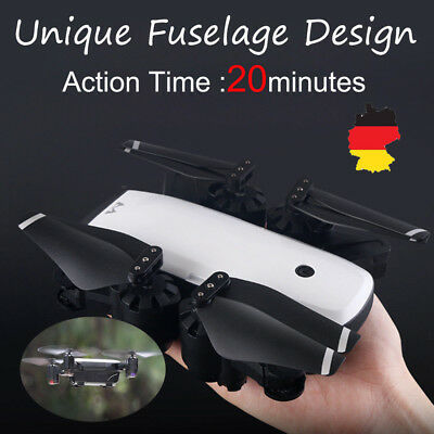 1080P 120°Wide-Angle 5,0MP Aititude Hold RC Hubschrauber Faltbare Selfie-Drohne