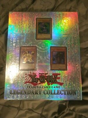 Yu-Gi-Oh! Shonen Jump! Trading Card Game! Legendary Collection Binder! 125 Cards