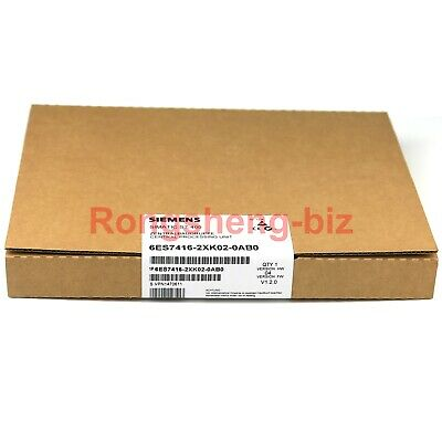 1PC Brand New In Box Siemens 6ES7416-2XK02-0AB0 6ES7 416-2XK02-0AB0 #RS19