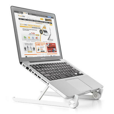 PrimeCables® Adjustable and Portable Laptop Stand Foldable Notebook Holder