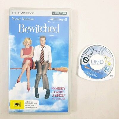 Bewitched Sony Playstation Portable PSP UMD Video