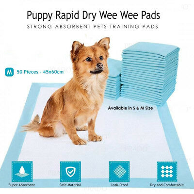 "50-300pcs Dog Puppy 23""x17"" Pet Housebreaking Pad, Pee Training Pads,  Underpads"