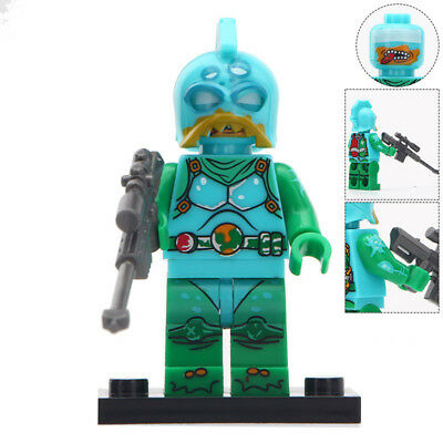MOISTY MERMAN Custom PAD UV Printed lego minifigure MOISTY MERMAN