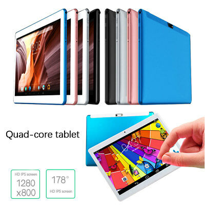 "New 10.1"" Tablet PC 4G+64G Android 6.0 Octa-Core Dual SIM & Camera Wifi Tablet"