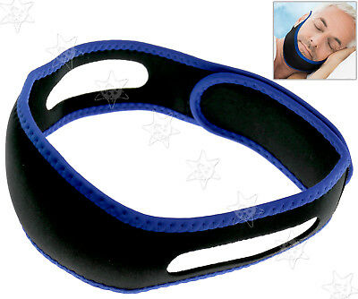 Authentic Stop Snoring Solutions StopS Anti Snore Jaw Strap Sleep  Chin Belt
