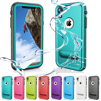 finest selection 3377f fa300 FOR APPLE IPHONE Xr Waterproof Case Underwater Shockproof Dirtproof Teal  Cover