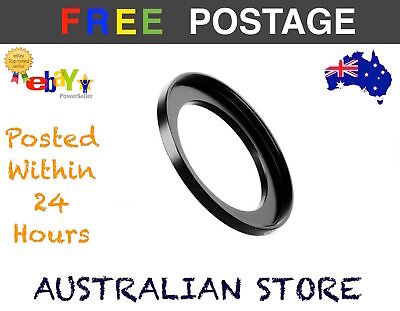 NEW Step Up Ring - 37-52mm 37mm-52mm Metal Step Up Lens Filter Ring Adapter DSLR
