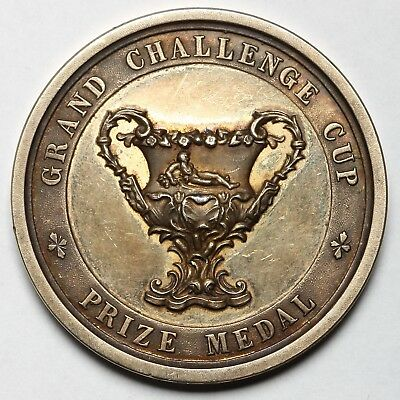 1931 Henley Royal Regatta Great Britain Bronze Grand Challenge Cup Medal Coin