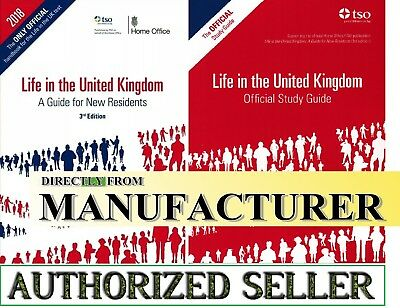 New Life in the United Kingdom UK 3rd edition Citizenship Test Book 2019-LF+STD