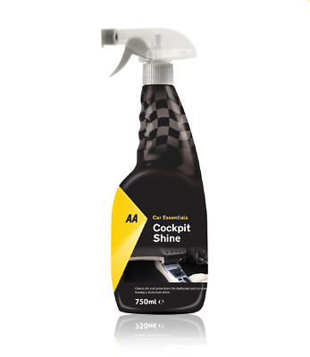Cockpit Cleaner and Shine 750ml AA Car Essentials