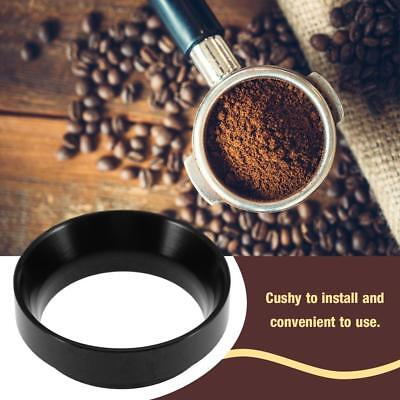 Espresso Coffee Dosing Ring Funnel 58mm Portafilters Cafe Ring Funnel Aluminum J