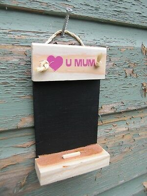 WHOLESALE Love u mum mini chalkboards