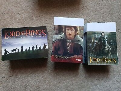 Lord of The Rings:Fellowship of rings, Return of The King & Two Towers  card