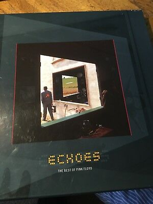 PINK FLOYD Echoes The Best Of Pink Floyd  4 x LP BOX SET 2001 (REDUCED)