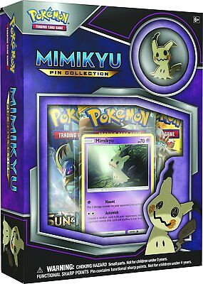 Pokemon TCG: Mimikyu Pin Collection Card Game