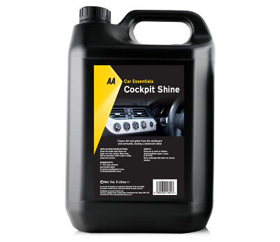 Cockpit Cleaner and Shine 5 L by AA Car Essentials