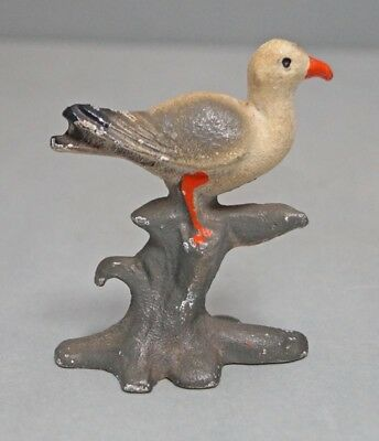 Antique Seagull Bird Cast Iron Bottle Opener John Wright Co.  Bar Accessory