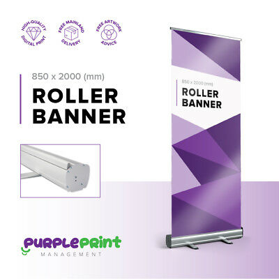 Pop up Banner, Roller, roll up, pull up banner - Exhibition stand Printed