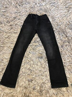Next Boys Jeans Black Skinny Size 8 Years 128 Cm Height