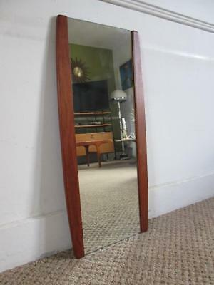 Lovely Large Vintage Retro 1960's/70's Teak Wood Wall Hanging Mirror