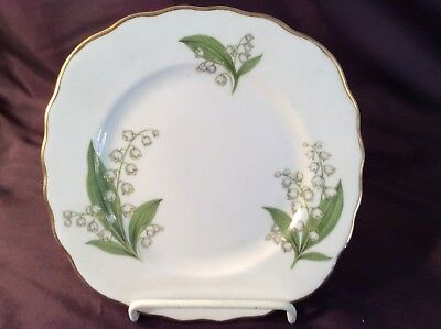 Royal Vale Lily of the Valley side plate