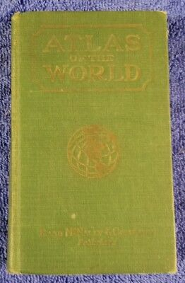 Antique Atlas of the World Book from Rand McNally 1931?